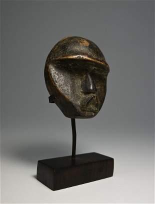 A Fine Old Dan Passport African Mask Ex Jan Baum 1988