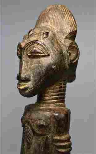 Fine Old Baule Divination Idol Ex Fily Keita Collection