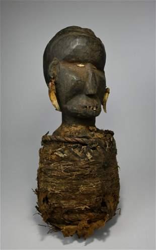 Rare Toma Ancestor Shrine fetish Collected in situ 1960