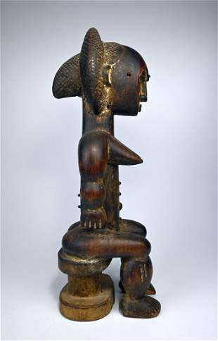 Lady of The Lagoons ~ A Fine Attie Female Sculpture