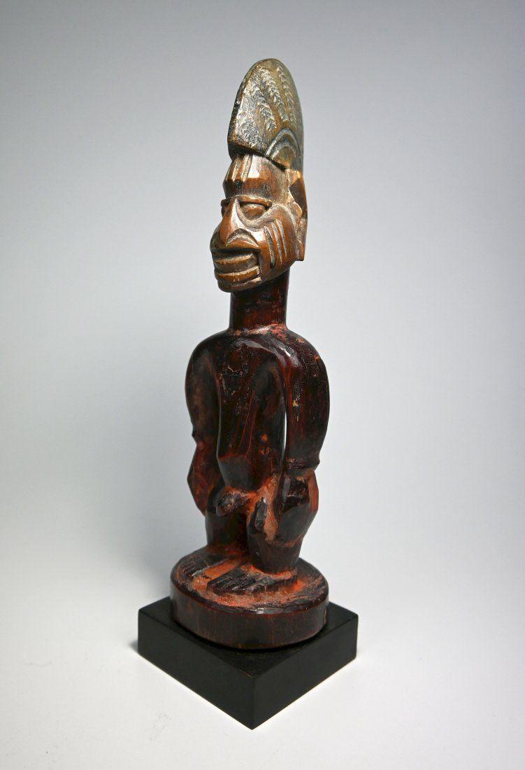 A Fine Old Yoruba Ibeji Idol, Ex Evan Maurer Collection