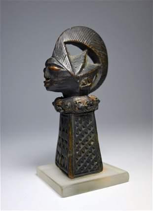A Very Fine Old Yoruba Ogo Elegba Ex Peter Wengraf