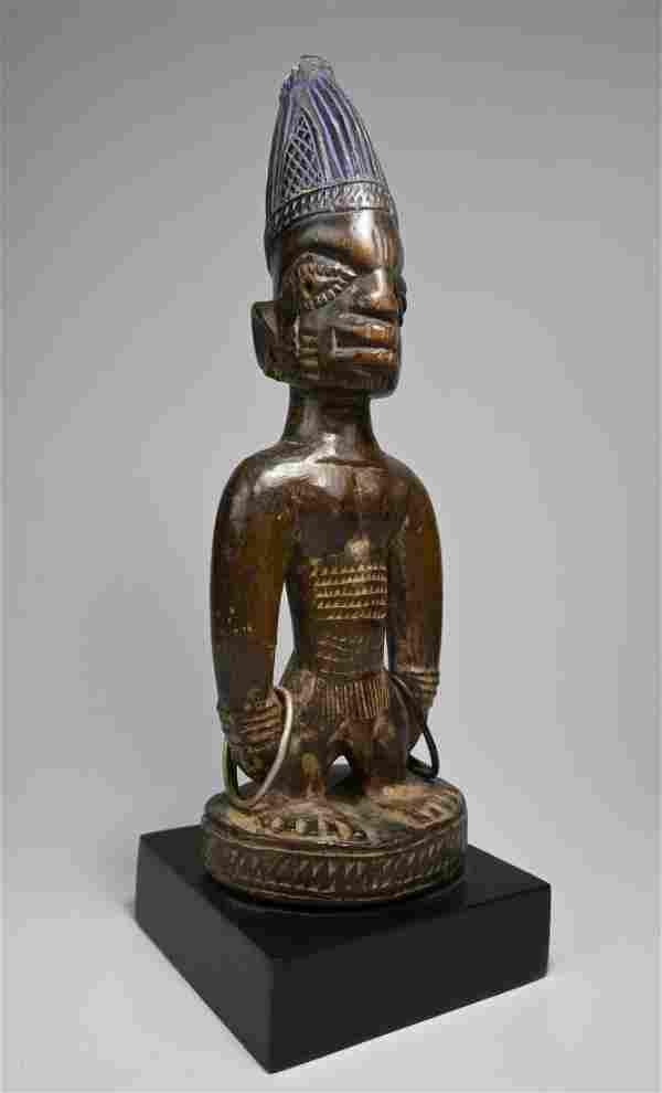 A Yoruba Ibeji Twin fetish Ex Evan Maurer Collection