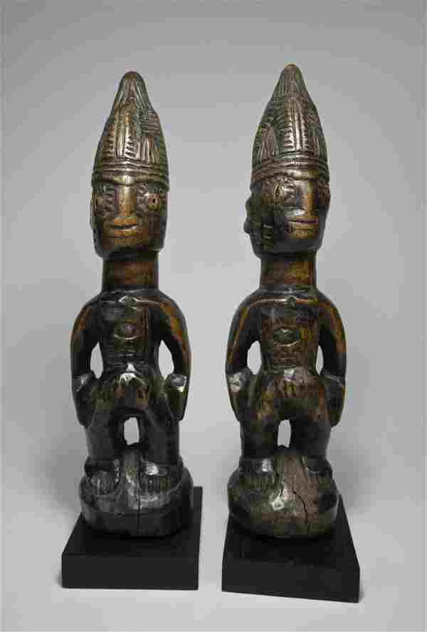 Yoruba Ibeji Twin Idols Ex Evan Maurer Collection