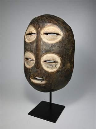 Rare Bembe Double Eyed Mask Ex Levitt, Ex Wyman