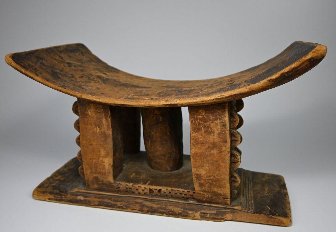 Old Akan /Ashanti African Stool Ex Rosin Collection