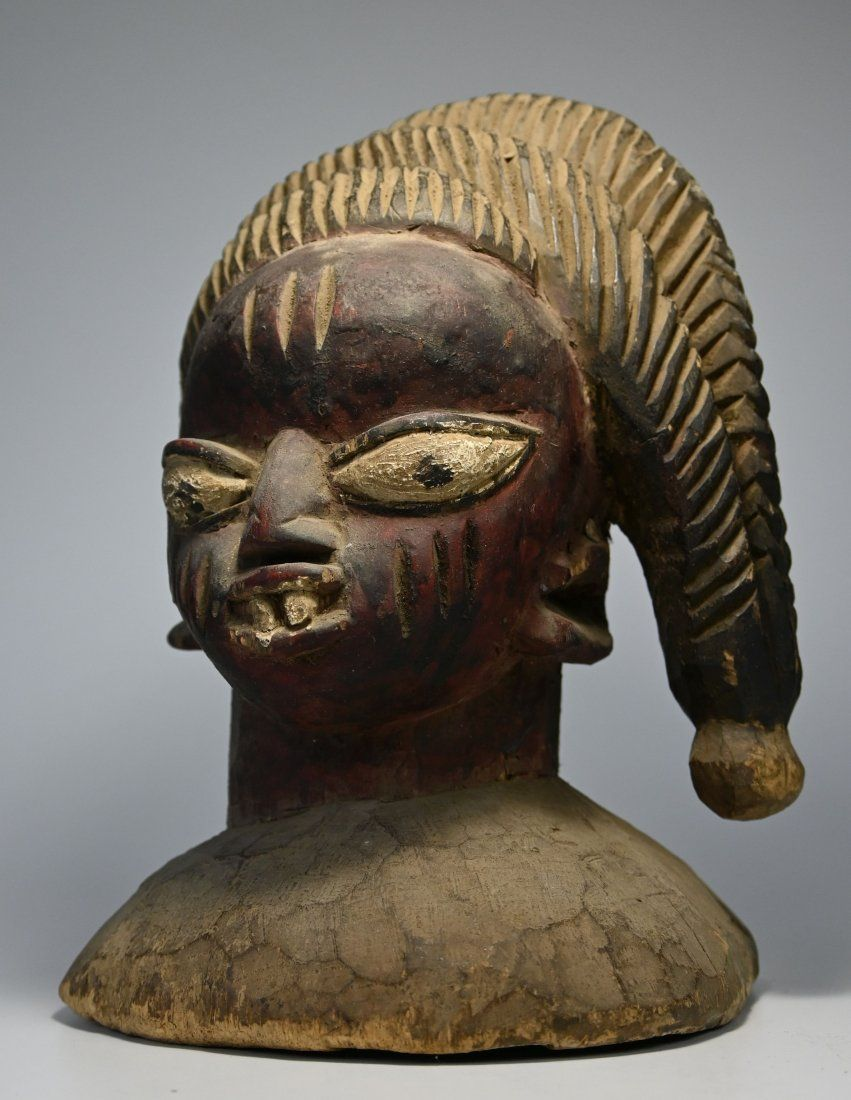 A Fine Old Yoruba Egungun Headdress