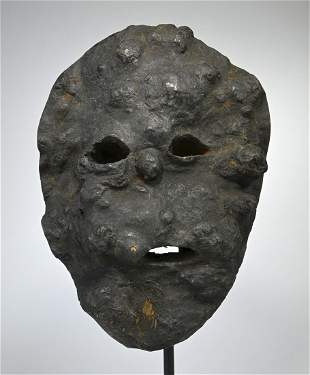 Rare Guardian Mask from the Rai people, Nepal Ex Gerena