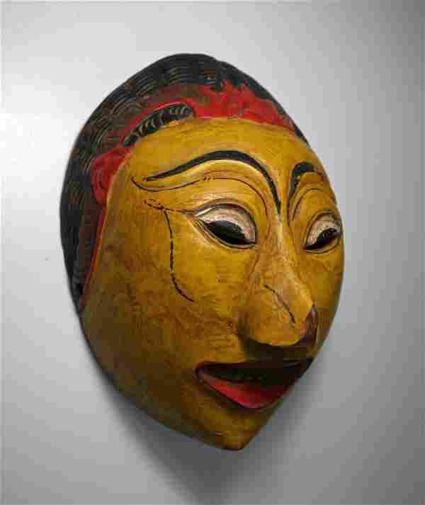 Serene Topeng Dance mask from Java