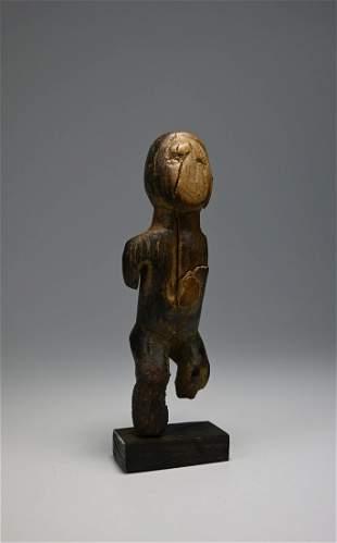 Ancient Bakongo Wood Idol Ex Leonard Kahan Gallery NYC