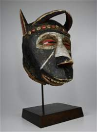 Dramatic Old IGALA Dance Mask Ex Amyas Naegele NYC