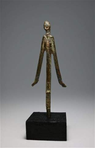 Ancient Tellum Bronze Shrine Idol Ex Miller Coll. 1985