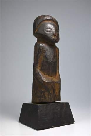 A Wonderful Old Luba Divination Idol Ex Hautelet