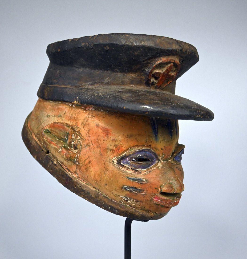 Police Officer Yoruba Gelede mask Sothebys /Park Bernet