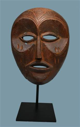 Fine Old Lovale mask collected in 1959