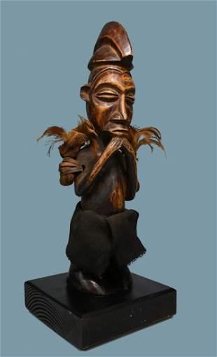 A Fine Yaka Phuungu Magic fetish Ex Jean Pierre Hallet