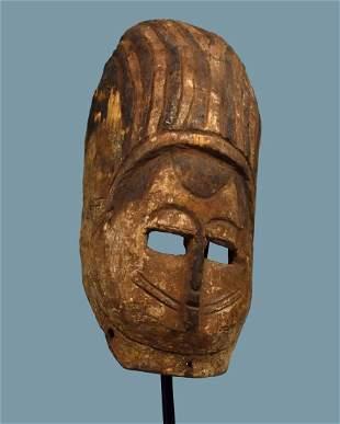 Old Bini Ekpo Society African mask