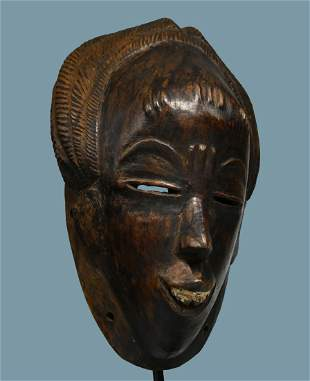 A Vintage Guro African Mask