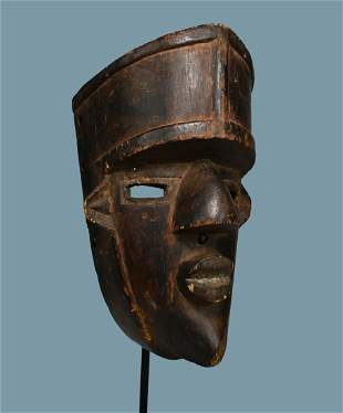 A Fine Old Lulua Mask