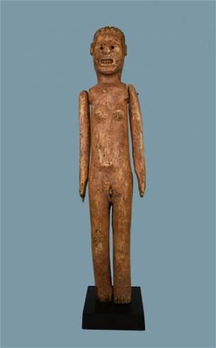 Primitive Old Sukuma female effigy Ex Robert Banks