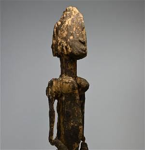 Ancient Dogon Ancestor Ex Merton Simpson, NYC