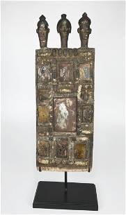 Rare Igbo Mirror Board for Divination Ritual Ex Banks
