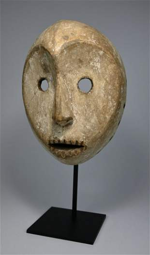A Very Rare Zimba Mask Ex Joseph Gerena, NYC