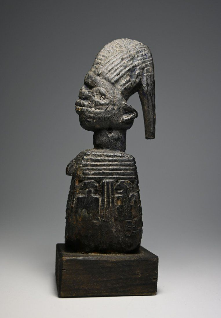 Rare Yoruba Eshu Trickster God Ex SEGY 1979 w/ Document