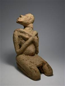 Rare Ancient Djenne Terracotta sculpture with TL Test