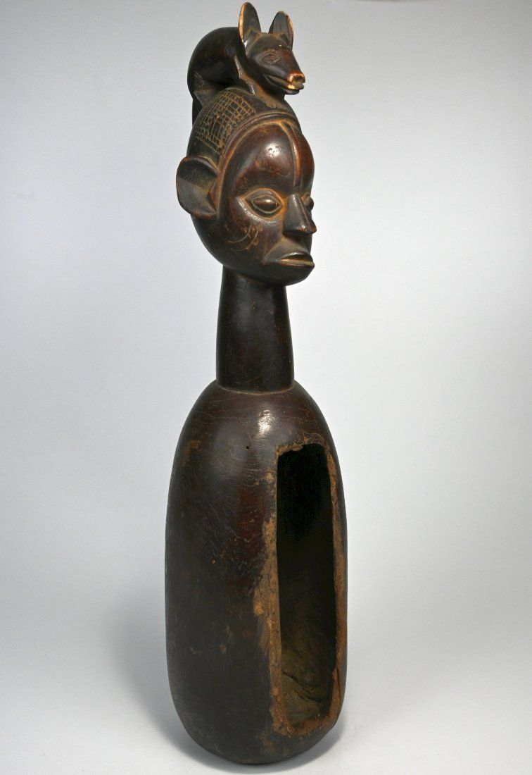 A Fine Yaka Nkoko Slit Drum Ex Gallinier, France 1999