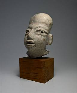 Ancient Olmec Head 900-600 BC Ex Harmer Rooke