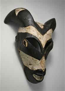 A Fine Old Ogoni Goat or Ram mask