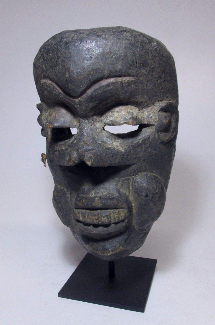 19/20th century Ibibio African Illness Mask