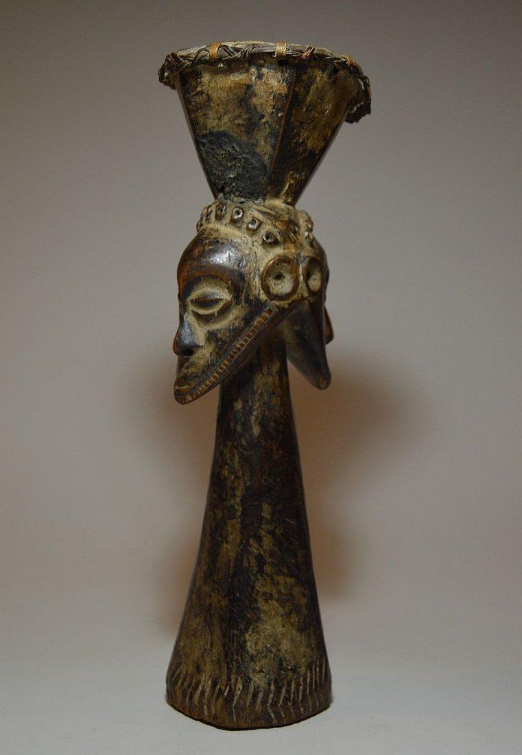 Kusu Janus Male & female Magic fetish sculpture