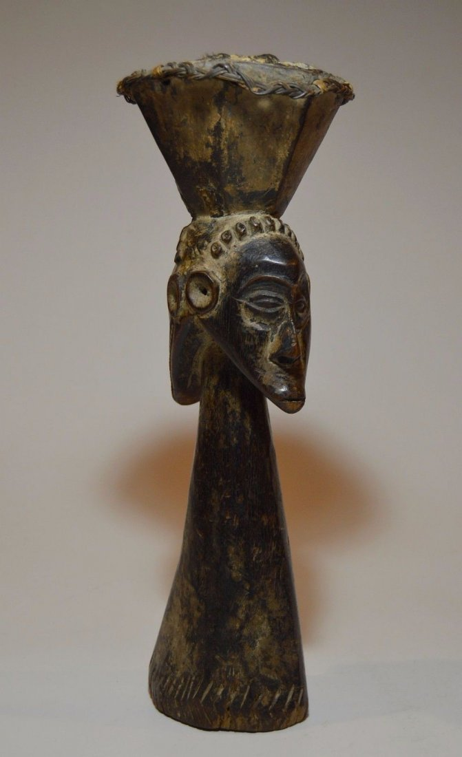 Kusu Janus Male & female Magic fetish sculpture - 2