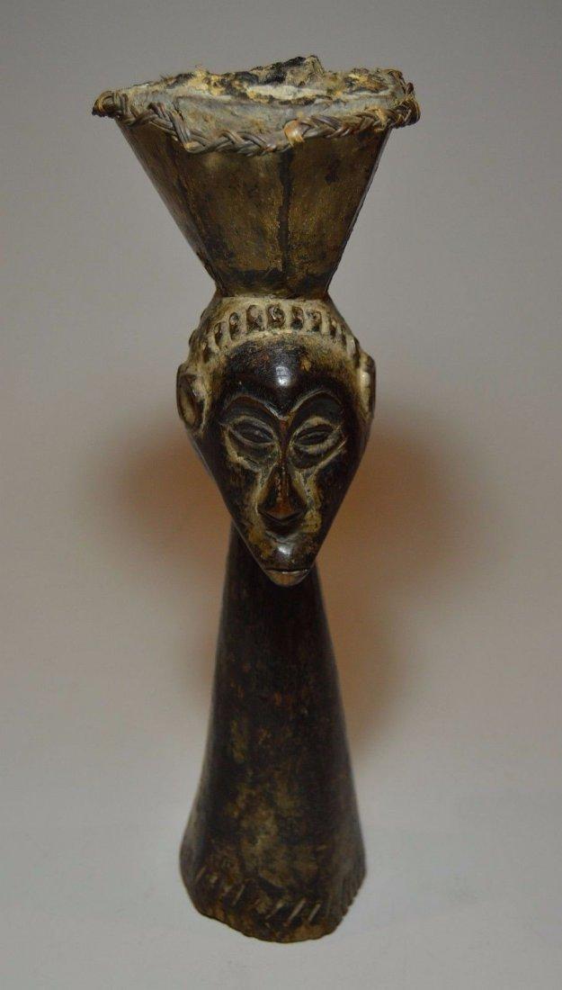 Kusu Janus Male & female Magic fetish sculpture - 3