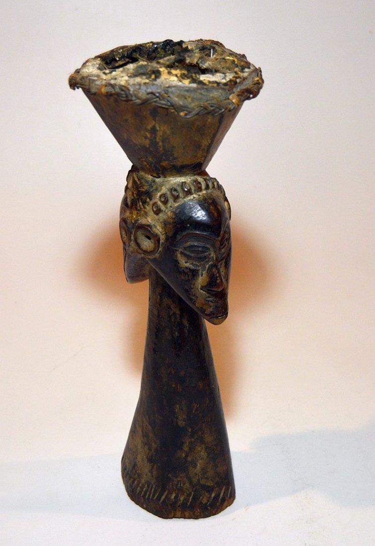 Kusu Janus Male & female Magic fetish sculpture - 6