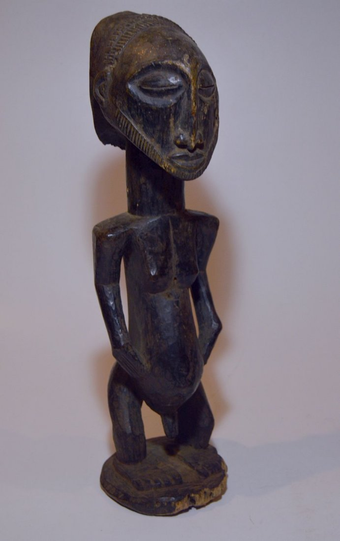 Old Hemba Male Singiti Ancestor sculpture, African Art