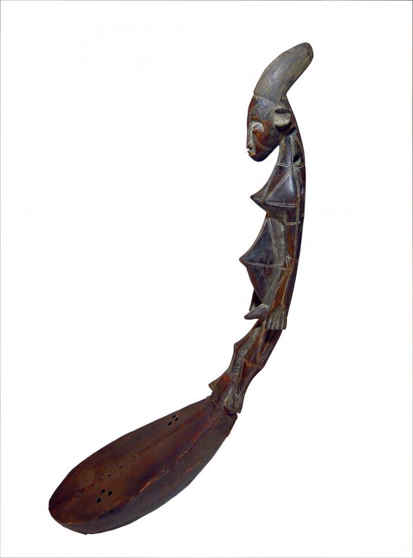 A Fine Mangbetu Harp , African Musical Instrument - 2