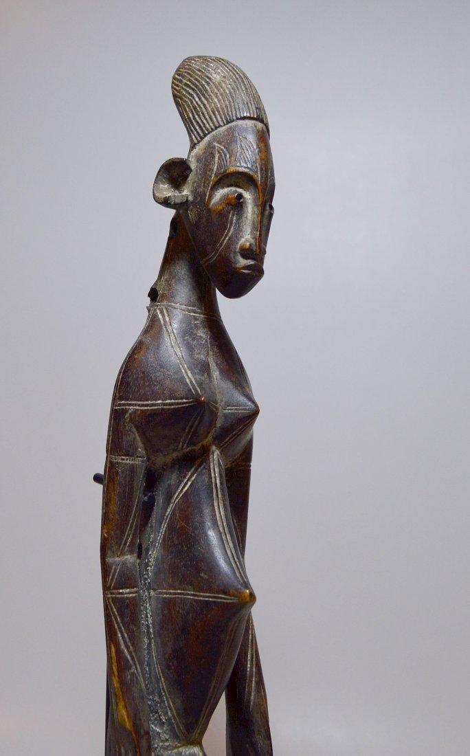 A Fine Mangbetu Harp , African Musical Instrument - 7