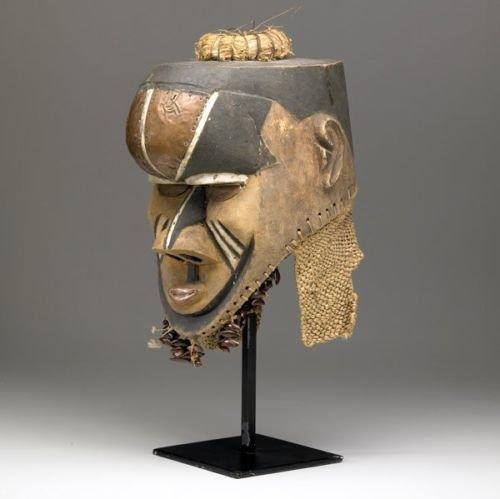 Old Kuba African mask / helmet