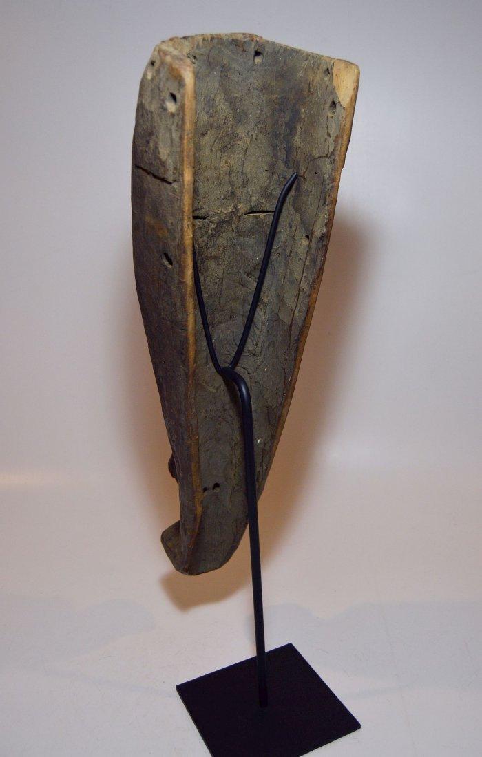 Rare Kuba Ngeende Nyibita Elongated African Mask - 5