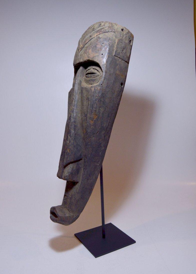 Rare Kuba Ngeende Nyibita Elongated African Mask - 6