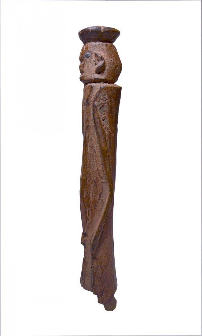 Old Wurkun abstract African Sculpture, African Art
