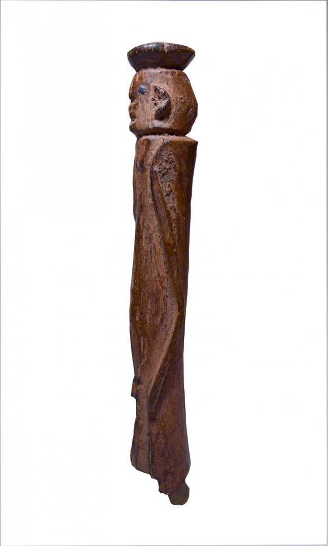 Old Wurkun abstract African Sculpture, African Art - 4