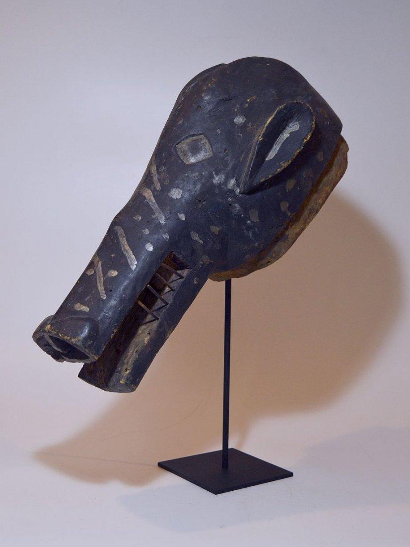 Old Senufo Kunugbaha Anti- Witchcraft African Mask - 2