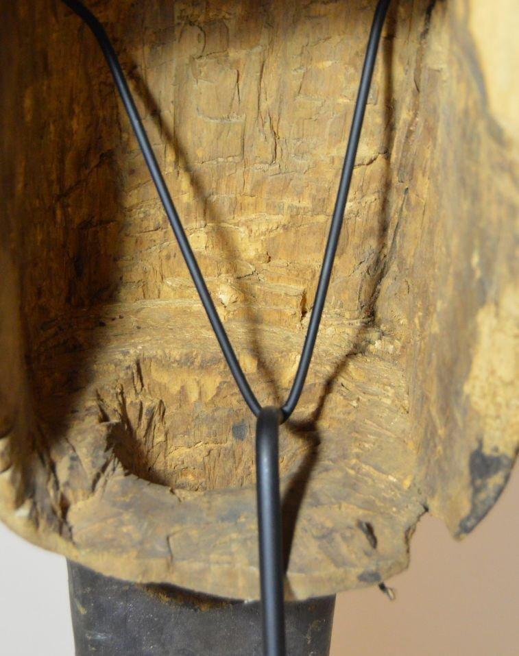 Old Senufo Kunugbaha Anti- Witchcraft African Mask - 8