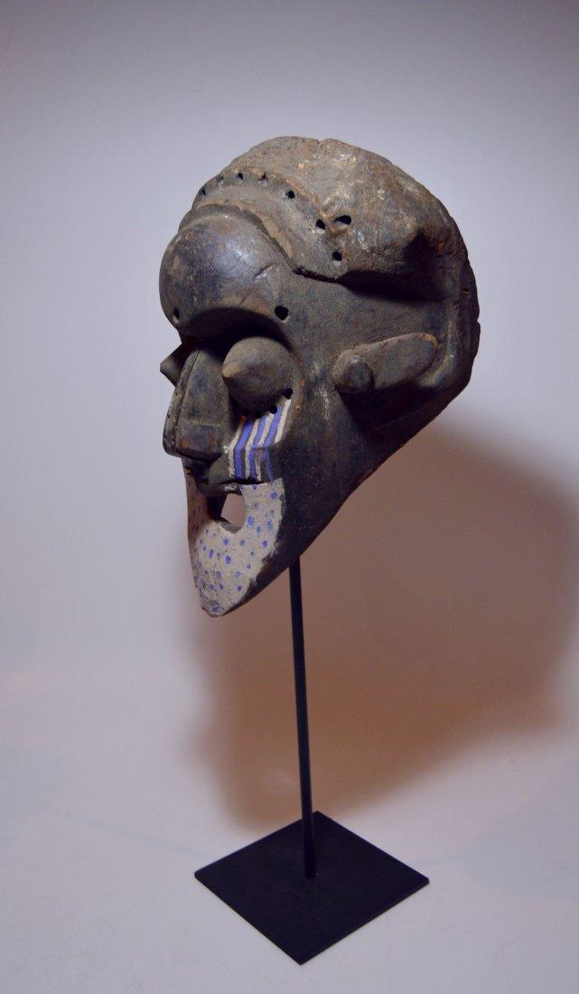 Fantastic Kuba Ngeende African Helmet mask