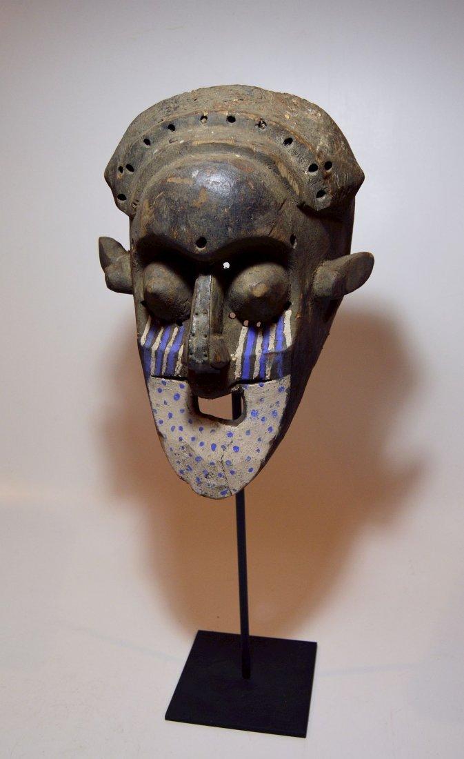 Fantastic Kuba Ngeende African Helmet mask - 2