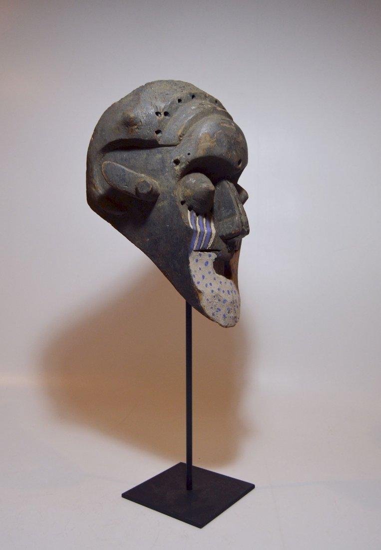 Fantastic Kuba Ngeende African Helmet mask - 3